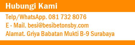 Hubungi Kami Distributor Jual Besi Beton Polos Ulir Surabaya